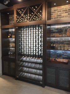 Wine Cellar Cabinetry