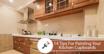 14 Tips For Painting Your Kitchen Cupboards
