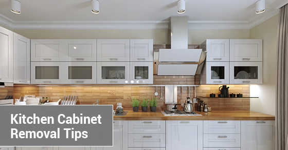 Kitchen Cabinet Removal Tips