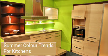 Summer Colour Trends For Kitchens